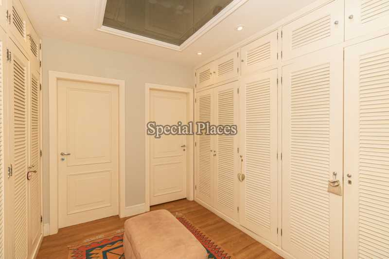 CLOSET SUÍTE MASTER  - Casa em Condomínio 4 quartos à venda Itanhangá, Rio de Janeiro - R$ 4.500.000 - BAC6206 - 27