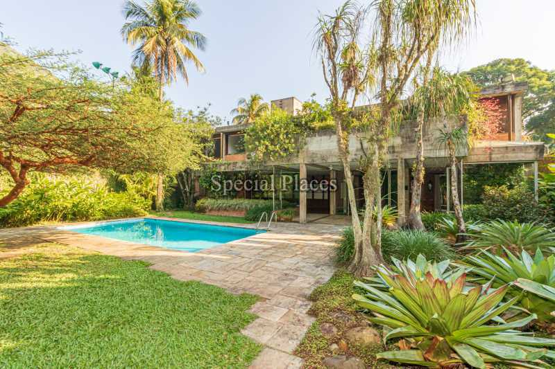 FACHADA  - Casa em Condomínio 4 quartos à venda Itanhangá, Rio de Janeiro - R$ 4.500.000 - BAC6212 - 3