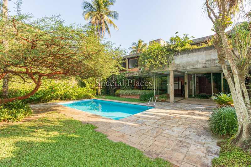 FACHADA  - Casa em Condomínio 4 quartos à venda Itanhangá, Rio de Janeiro - R$ 4.500.000 - BAC6212 - 4