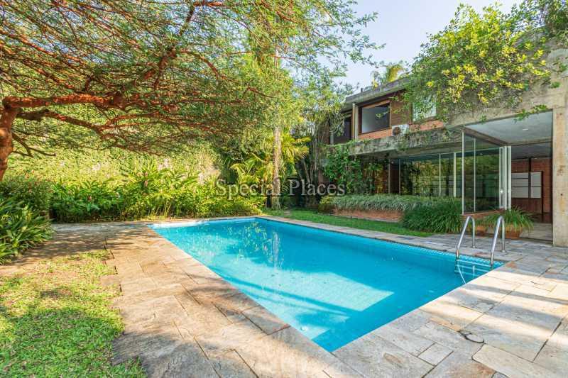 PISCINA  - Casa em Condomínio 4 quartos à venda Itanhangá, Rio de Janeiro - R$ 4.500.000 - BAC6212 - 5