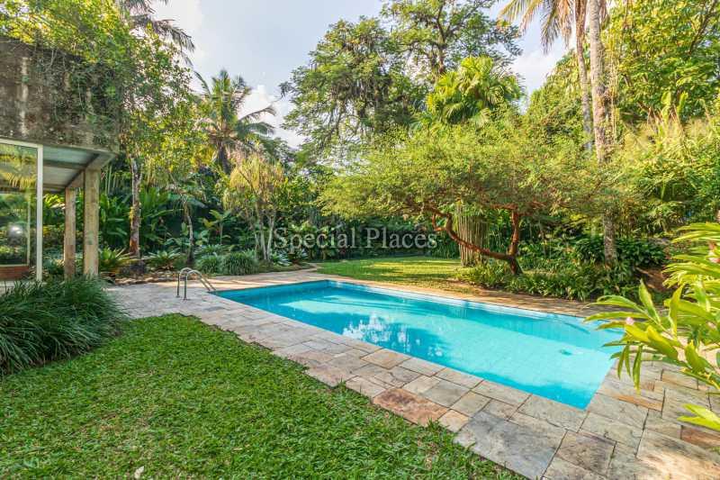 PISCINA  - Casa em Condomínio 4 quartos à venda Itanhangá, Rio de Janeiro - R$ 4.500.000 - BAC6212 - 7