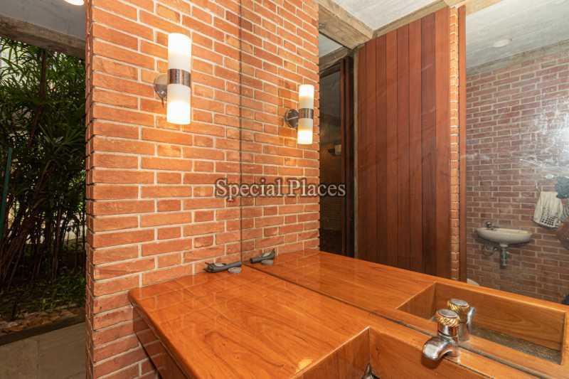 BANHEIRO / LAVABO  - Casa em Condomínio 4 quartos à venda Itanhangá, Rio de Janeiro - R$ 4.500.000 - BAC6212 - 11
