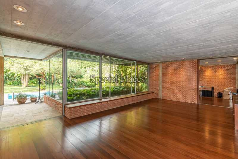 SALÃO  - Casa em Condomínio 4 quartos à venda Itanhangá, Rio de Janeiro - R$ 4.500.000 - BAC6212 - 12