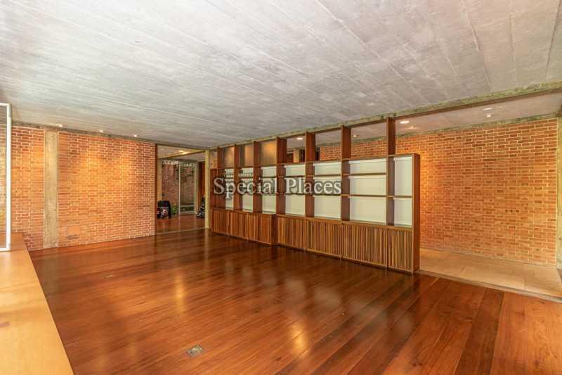 SALÃO  - Casa em Condomínio 4 quartos à venda Itanhangá, Rio de Janeiro - R$ 4.500.000 - BAC6212 - 13
