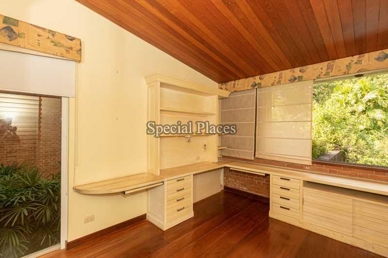 ESCRITÓRIO  - Casa em Condomínio 4 quartos à venda Itanhangá, Rio de Janeiro - R$ 4.500.000 - BAC6212 - 23