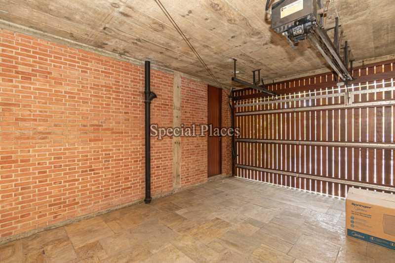 GARAGEM  - Casa em Condomínio 4 quartos à venda Itanhangá, Rio de Janeiro - R$ 4.500.000 - BAC6212 - 31