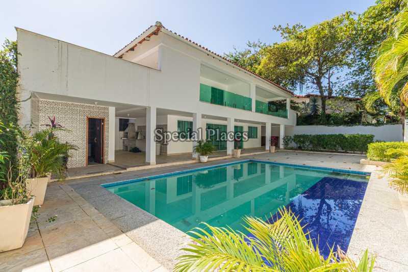 FACHADA  - Casa em Condomínio 5 quartos à venda Barra da Tijuca, Rio de Janeiro - R$ 4.850.000 - BAC6211 - 3