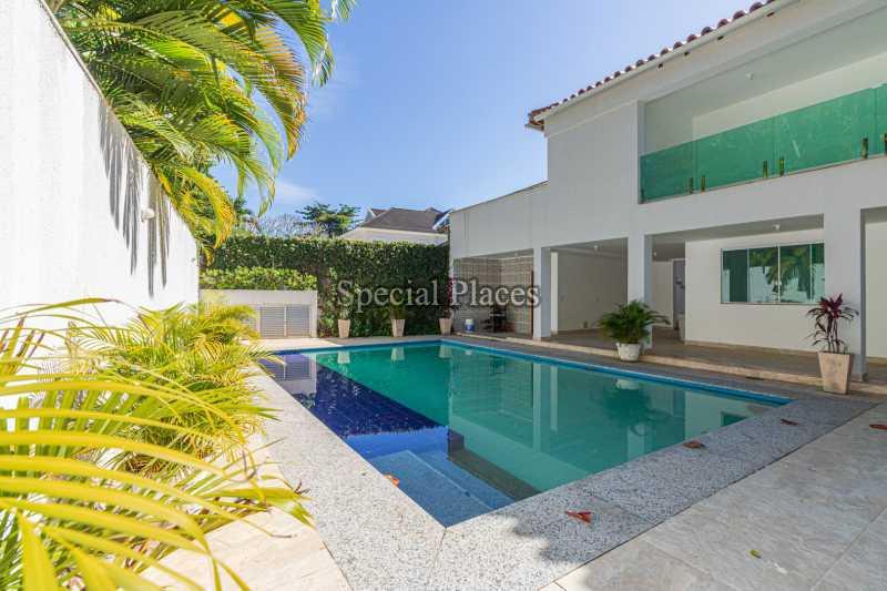 FACHADA  - Casa em Condomínio 5 quartos à venda Barra da Tijuca, Rio de Janeiro - R$ 4.850.000 - BAC6211 - 1