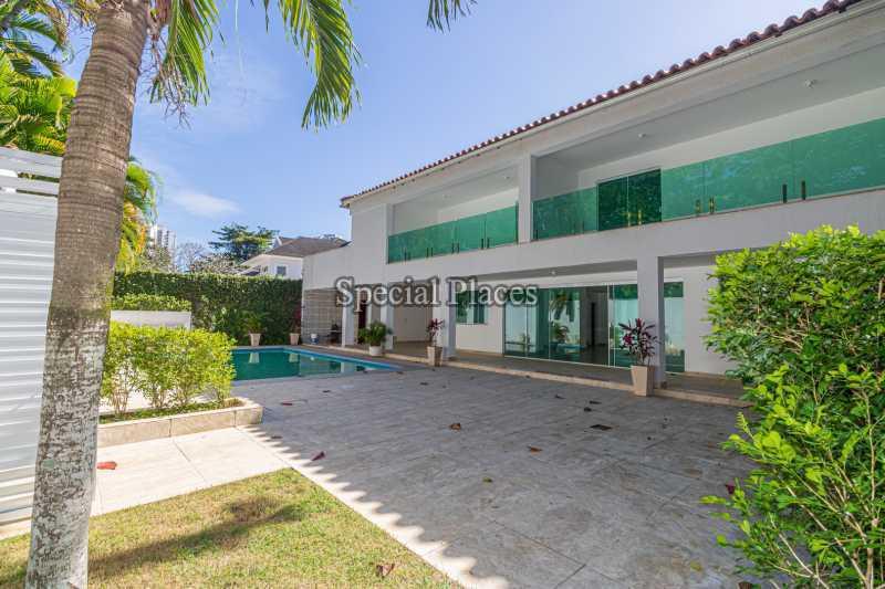 FACHADA  - Casa em Condomínio 5 quartos à venda Barra da Tijuca, Rio de Janeiro - R$ 4.850.000 - BAC6211 - 4