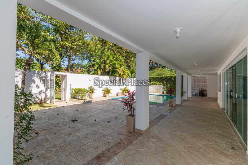 VARANDA 1º ANDAR  - Casa em Condomínio 5 quartos à venda Barra da Tijuca, Rio de Janeiro - R$ 4.850.000 - BAC6211 - 5