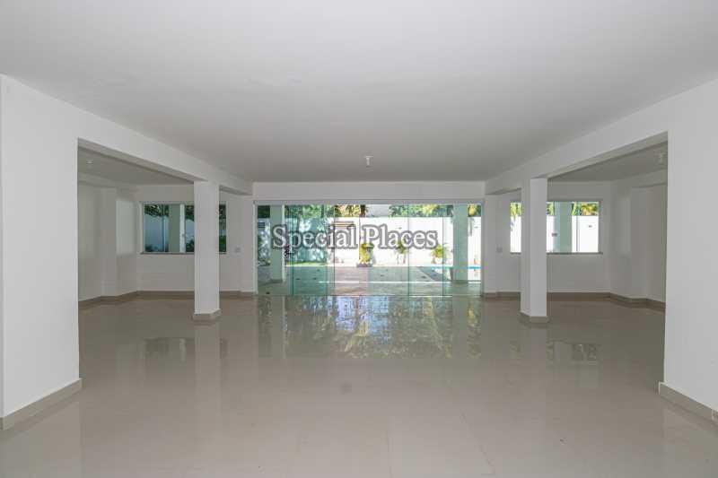 SALÃO  - Casa em Condomínio 5 quartos à venda Barra da Tijuca, Rio de Janeiro - R$ 4.850.000 - BAC6211 - 9