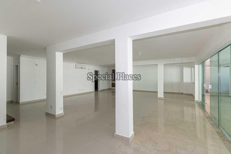 SALÃO  - Casa em Condomínio 5 quartos à venda Barra da Tijuca, Rio de Janeiro - R$ 4.850.000 - BAC6211 - 10
