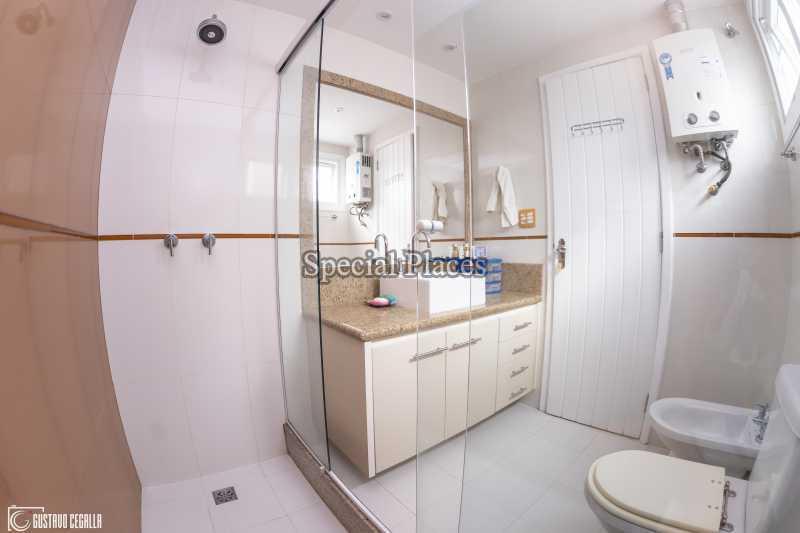 BANHEIRO SUÍTE MASTER  - Casa em Condomínio 4 quartos à venda Barra da Tijuca, Rio de Janeiro - R$ 3.000.000 - BAC6217 - 19