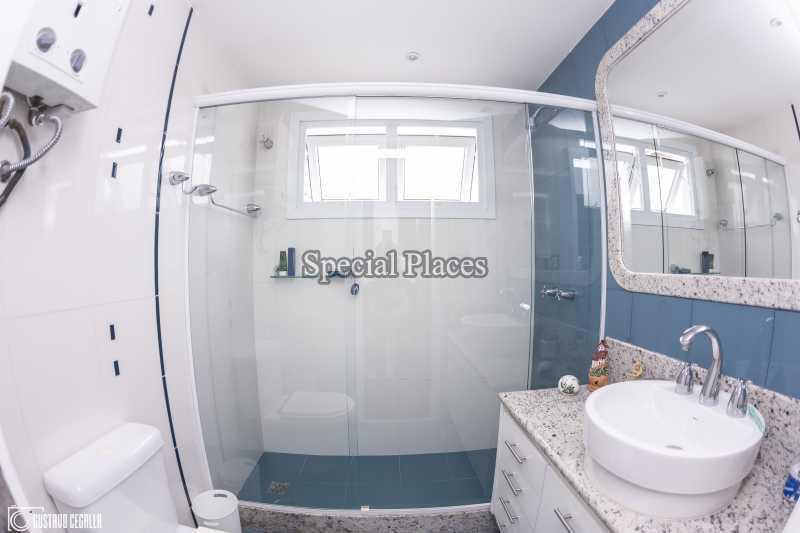 BANHEIRO  - Casa em Condomínio 4 quartos à venda Barra da Tijuca, Rio de Janeiro - R$ 3.000.000 - BAC6217 - 22