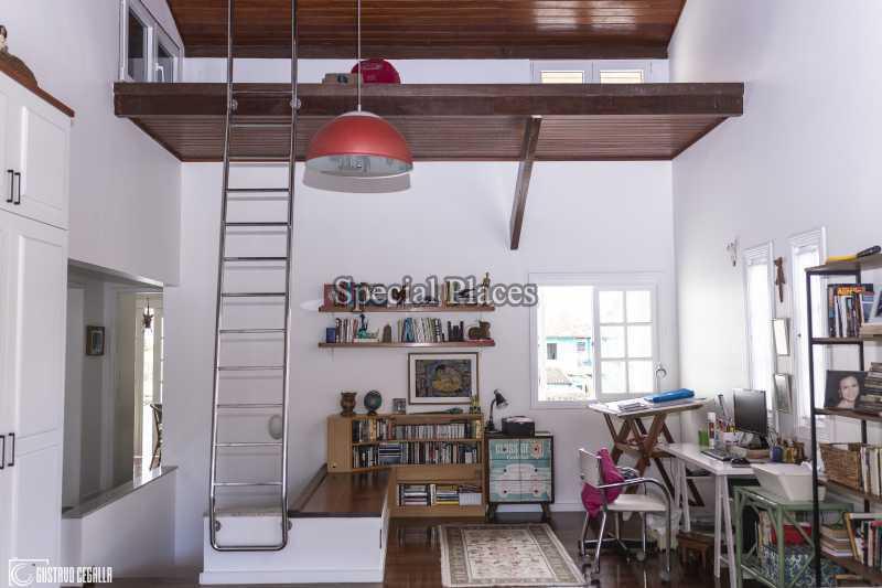 SALA CONVIVÊNCIA  - Casa em Condomínio 4 quartos à venda Barra da Tijuca, Rio de Janeiro - R$ 3.000.000 - BAC6217 - 16