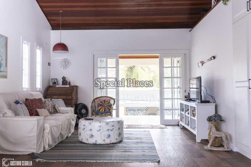SALA CONVIVÊNCIA  - Casa em Condomínio 4 quartos à venda Barra da Tijuca, Rio de Janeiro - R$ 3.000.000 - BAC6217 - 15