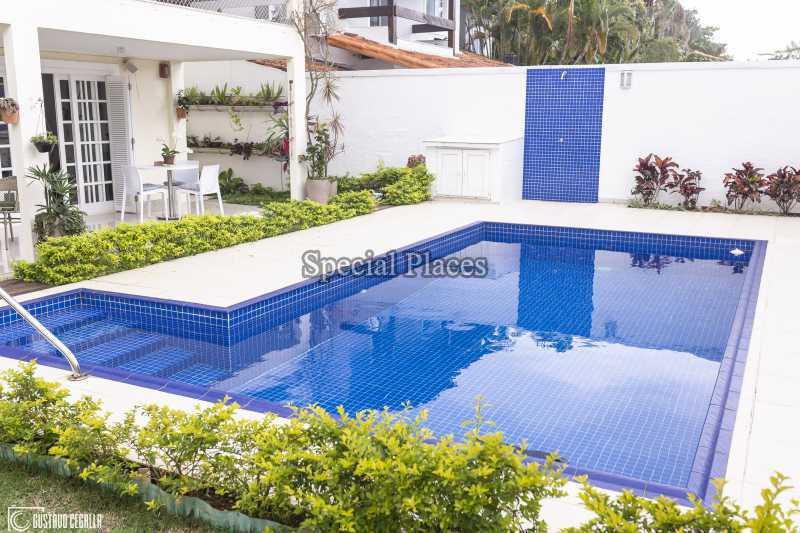 PISCINA  - Casa em Condomínio 4 quartos à venda Barra da Tijuca, Rio de Janeiro - R$ 3.000.000 - BAC6217 - 3