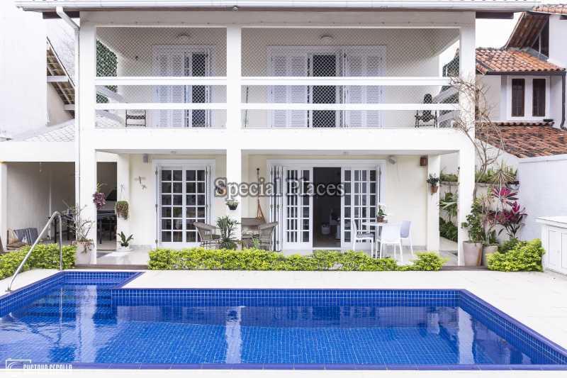 FACHADA - Casa em Condomínio 4 quartos à venda Barra da Tijuca, Rio de Janeiro - R$ 3.000.000 - BAC6217 - 1