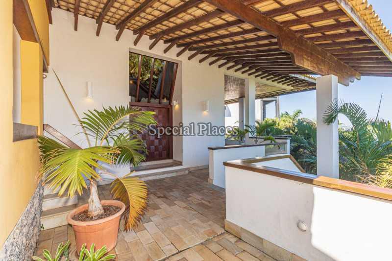 ENTRADA  - Casa em Condomínio 4 quartos à venda Joá, Rio de Janeiro - R$ 7.800.000 - BAC6210 - 10