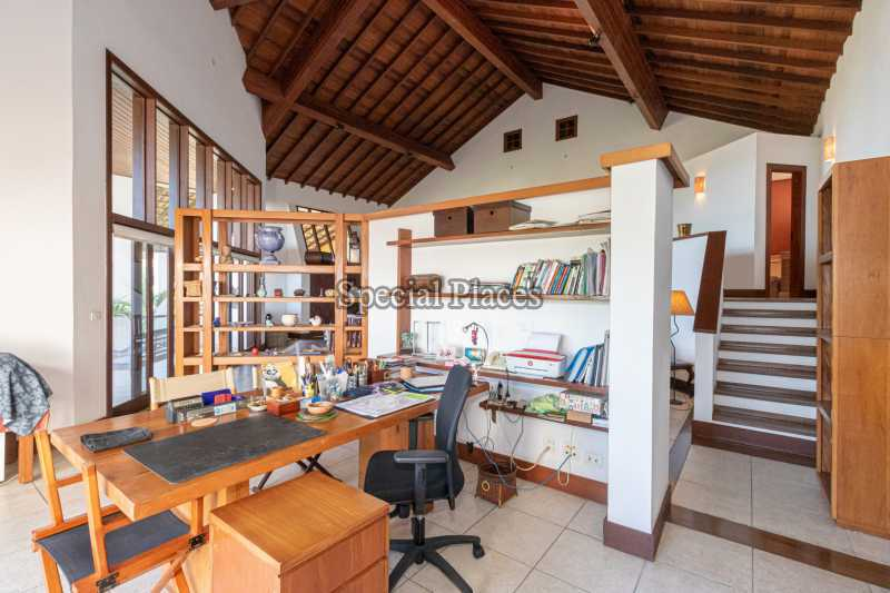 ESCRITÓRIO  - Casa em Condomínio 4 quartos à venda Joá, Rio de Janeiro - R$ 7.800.000 - BAC6210 - 14