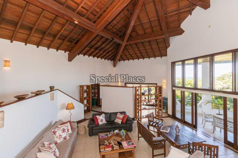 SALÃO  - Casa em Condomínio 4 quartos à venda Joá, Rio de Janeiro - R$ 7.800.000 - BAC6210 - 13