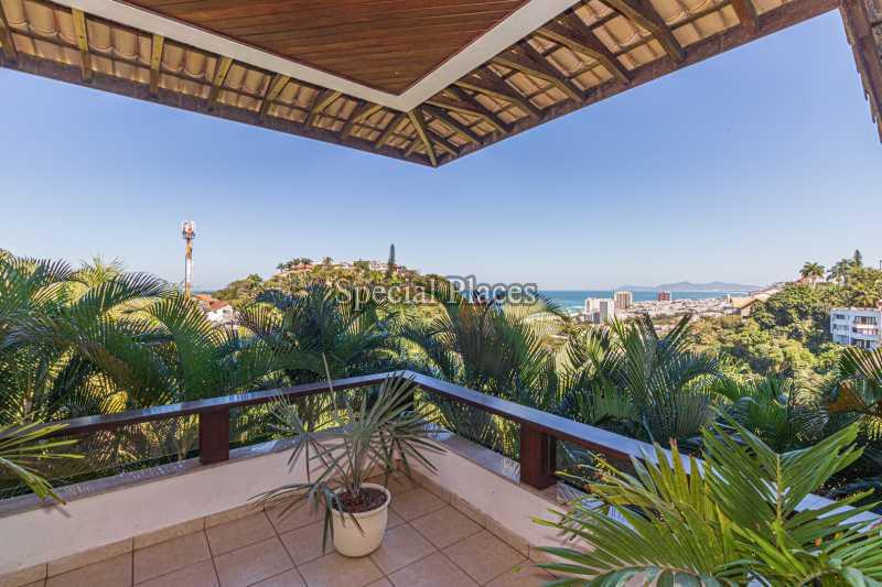 VARANDÃO  - Casa em Condomínio 4 quartos à venda Joá, Rio de Janeiro - R$ 7.800.000 - BAC6210 - 18