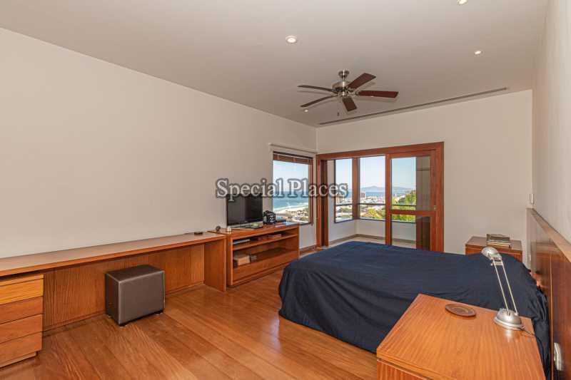 QUARTO SUÍTE MASTER  - Casa em Condomínio 4 quartos à venda Joá, Rio de Janeiro - R$ 7.800.000 - BAC6210 - 20