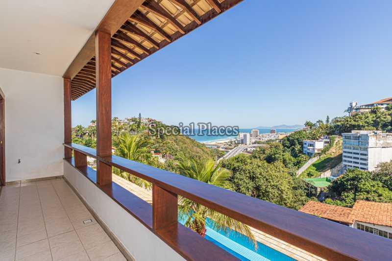 VARANDA SUÍTE 2 - Casa em Condomínio 4 quartos à venda Joá, Rio de Janeiro - R$ 7.800.000 - BAC6210 - 25