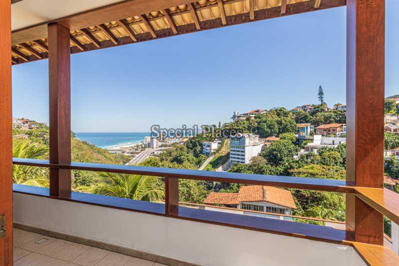 VARANDA QUARTO 3  - Casa em Condomínio 4 quartos à venda Joá, Rio de Janeiro - R$ 7.800.000 - BAC6210 - 27
