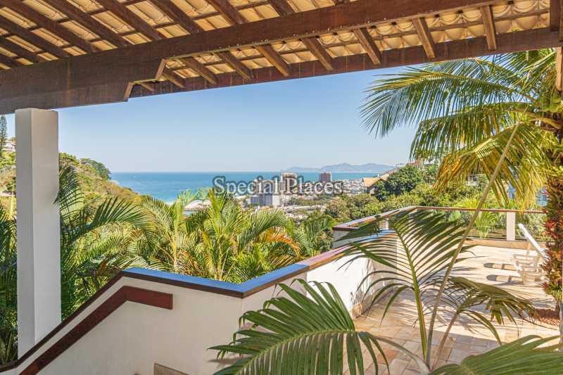 VISTA  - Casa em Condomínio 4 quartos à venda Joá, Rio de Janeiro - R$ 7.800.000 - BAC6210 - 8