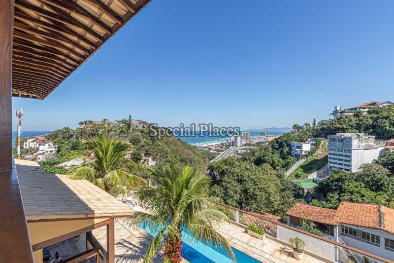 VISTA  - Casa em Condomínio 4 quartos à venda Joá, Rio de Janeiro - R$ 7.800.000 - BAC6210 - 3