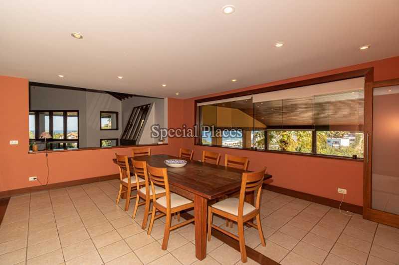 SALA DE JANTAR  - Casa em Condomínio 4 quartos à venda Joá, Rio de Janeiro - R$ 7.800.000 - BAC6210 - 17