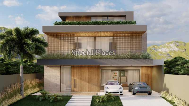 FACHADA  - Casa em Condomínio 5 quartos à venda Barra da Tijuca, Rio de Janeiro - R$ 8.500.000 - BAC6219 - 4
