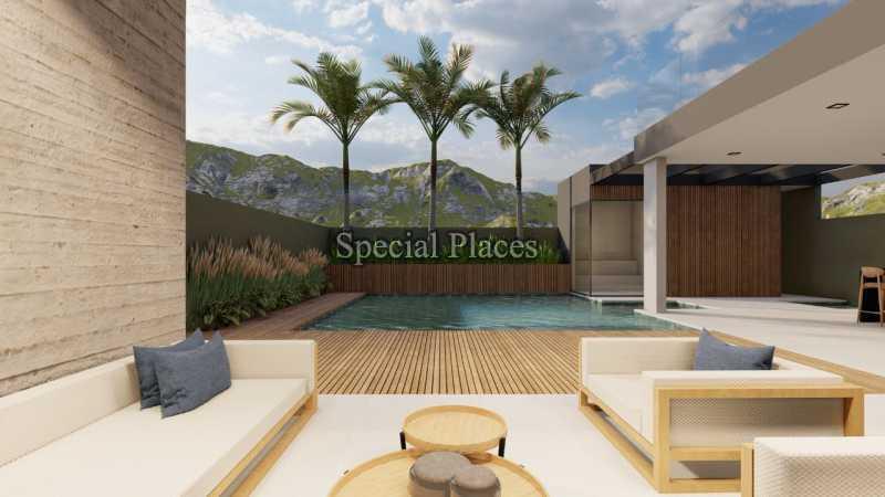LAZER COM PISCINA  - Casa em Condomínio 5 quartos à venda Barra da Tijuca, Rio de Janeiro - R$ 8.500.000 - BAC6219 - 5