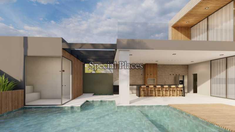 PISCINA  - Casa em Condomínio 5 quartos à venda Barra da Tijuca, Rio de Janeiro - R$ 8.500.000 - BAC6219 - 7