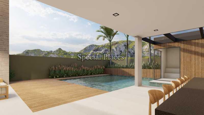 LAZER PISCINA  - Casa em Condomínio 5 quartos à venda Barra da Tijuca, Rio de Janeiro - R$ 8.500.000 - BAC6219 - 8