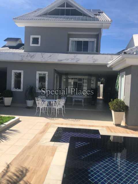 FACHADA - Casa 5 quartos à venda Recreio dos Bandeirantes, Rio de Janeiro - R$ 1.600.000 - BAC6227 - 3