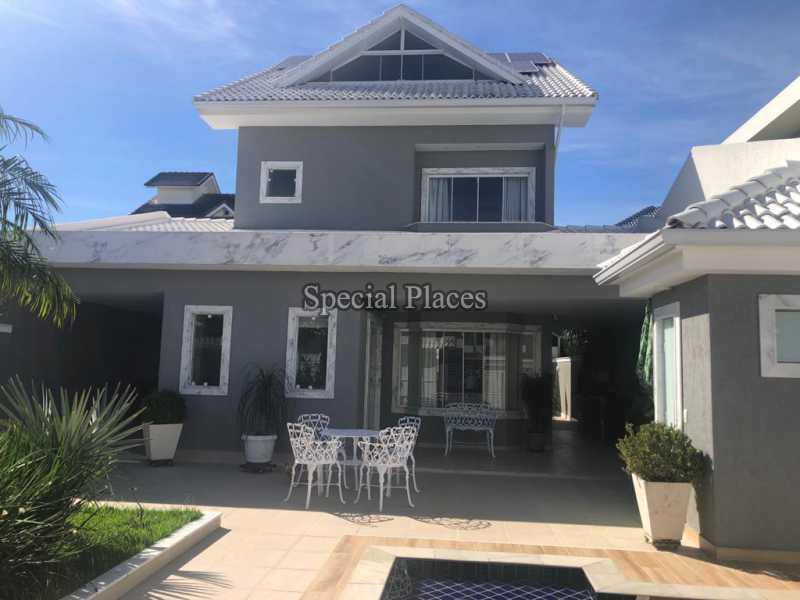 FACHADA - Casa 5 quartos à venda Recreio dos Bandeirantes, Rio de Janeiro - R$ 1.600.000 - BAC6227 - 1