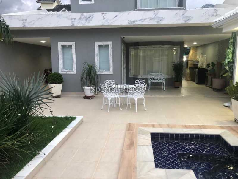 FACHADA  - Casa 5 quartos à venda Recreio dos Bandeirantes, Rio de Janeiro - R$ 1.600.000 - BAC6227 - 4