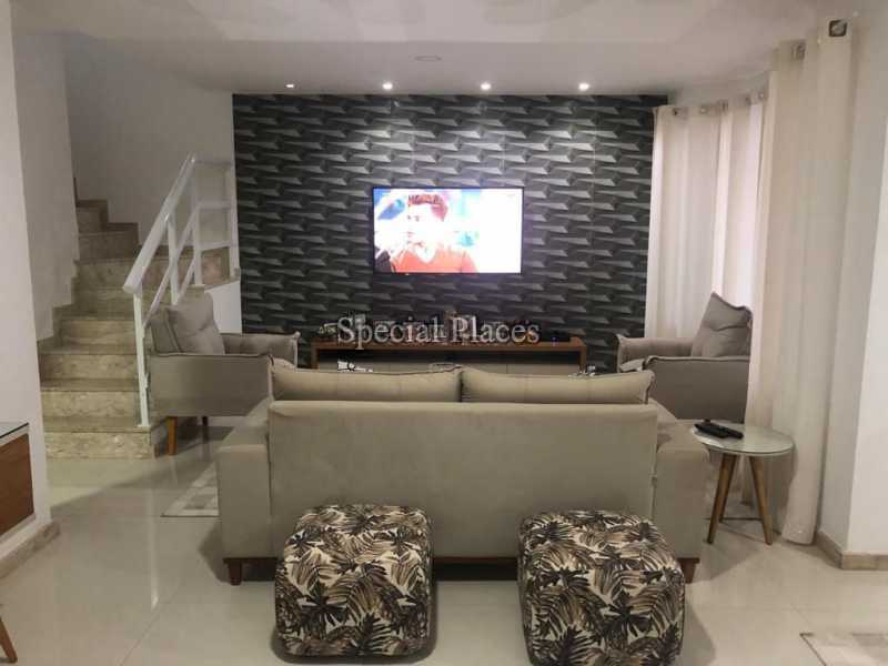 SALA MULTI AMBIENTES - Casa 5 quartos à venda Recreio dos Bandeirantes, Rio de Janeiro - R$ 1.600.000 - BAC6227 - 10