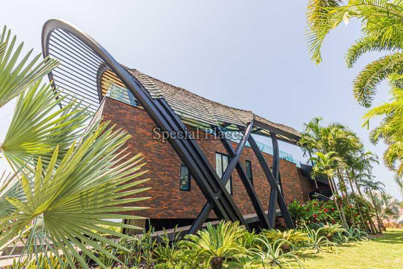 FACHADA  - Casa em Condomínio 4 quartos à venda Barra da Tijuca, Rio de Janeiro - R$ 7.500.000 - BAC6233 - 3