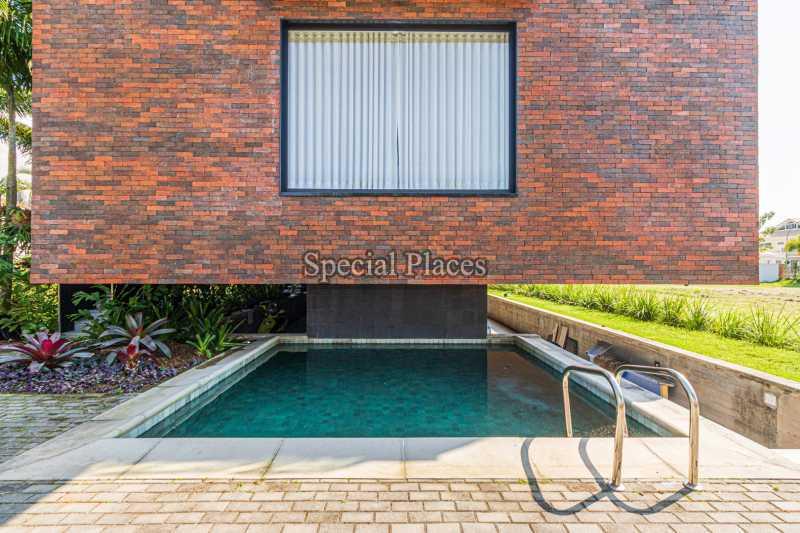 PISCINA JARDIM  - Casa em Condomínio 4 quartos à venda Barra da Tijuca, Rio de Janeiro - R$ 7.500.000 - BAC6233 - 6