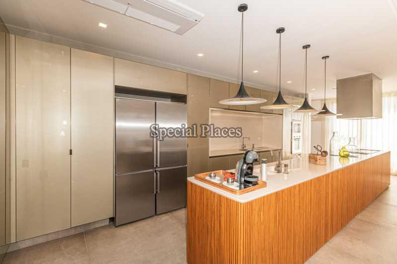 COZINHA ABERTA  - Casa em Condomínio 4 quartos à venda Barra da Tijuca, Rio de Janeiro - R$ 7.500.000 - BAC6233 - 18