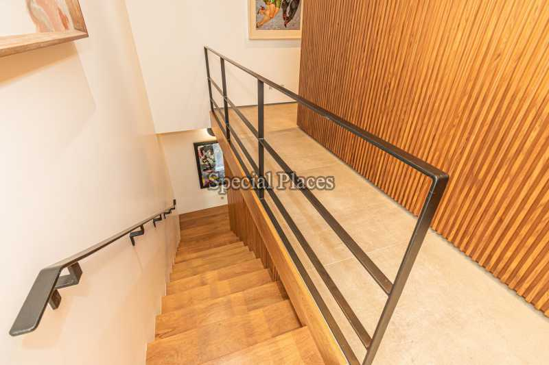 ESCADA  - Casa em Condomínio 4 quartos à venda Barra da Tijuca, Rio de Janeiro - R$ 7.500.000 - BAC6233 - 21