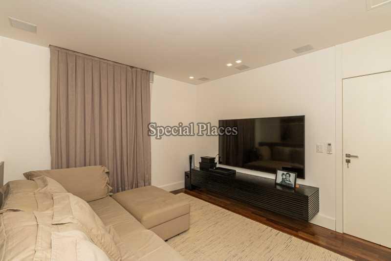SALA TV  - Casa em Condomínio 4 quartos à venda Barra da Tijuca, Rio de Janeiro - R$ 7.500.000 - BAC6233 - 23