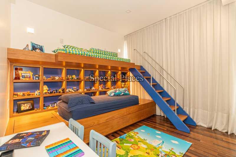 SUÍTE INFANTIL  - Casa em Condomínio 4 quartos à venda Barra da Tijuca, Rio de Janeiro - R$ 7.500.000 - BAC6233 - 24
