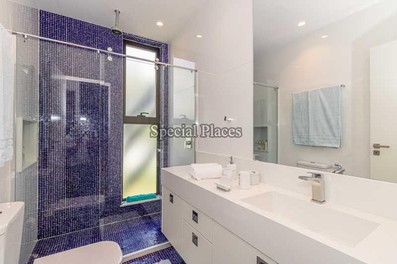 BANHEIRO SUÍTE  - Casa em Condomínio 4 quartos à venda Barra da Tijuca, Rio de Janeiro - R$ 7.500.000 - BAC6233 - 25
