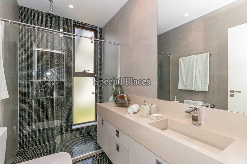 BANHEIRO SUÍTE  - Casa em Condomínio 4 quartos à venda Barra da Tijuca, Rio de Janeiro - R$ 7.500.000 - BAC6233 - 27