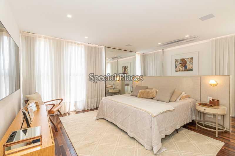 SUÍTE MASTER  - Casa em Condomínio 4 quartos à venda Barra da Tijuca, Rio de Janeiro - R$ 7.500.000 - BAC6233 - 28