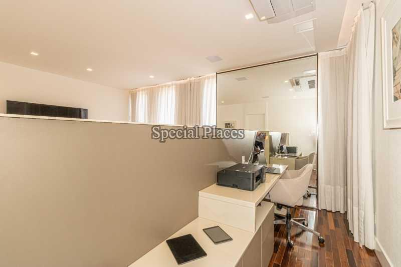 ESCRITÓRIO SUÍTE MASTER  - Casa em Condomínio 4 quartos à venda Barra da Tijuca, Rio de Janeiro - R$ 7.500.000 - BAC6233 - 29